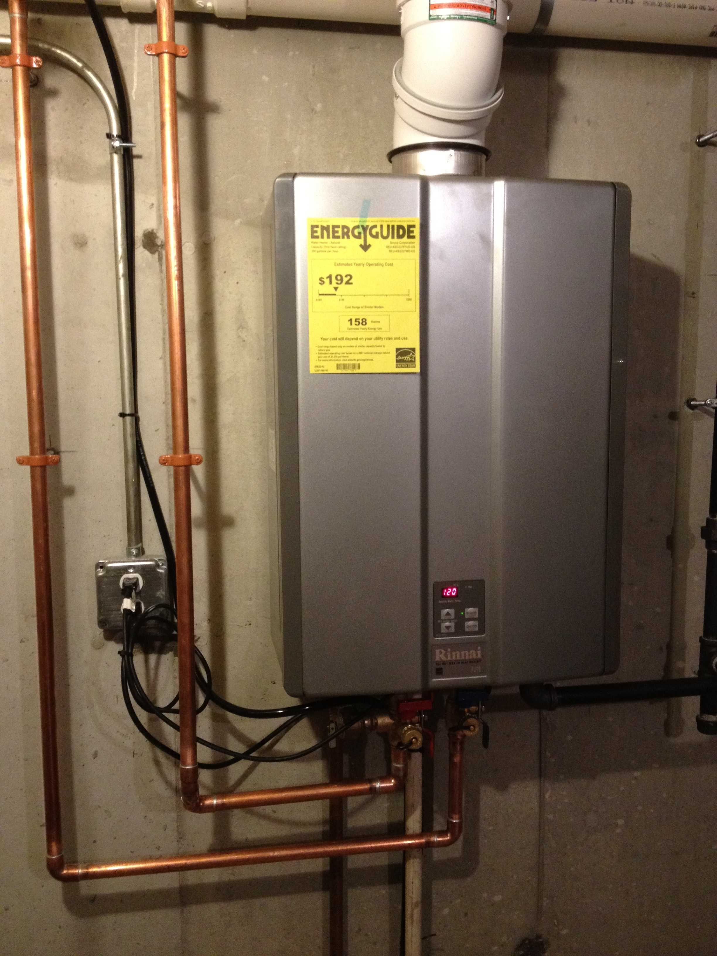 Rinnai On Demand Hot Water Heater Framingham Ma Kaufman