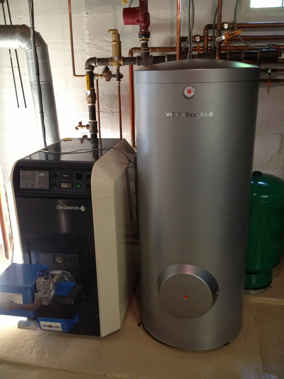 new viessmann vitocell 300 hot water tank installed in. Black Bedroom Furniture Sets. Home Design Ideas